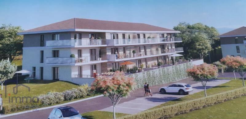 Vente appartement t3 neuf rez-de-jardin 70 m² à Évian-les-Bains (74500)