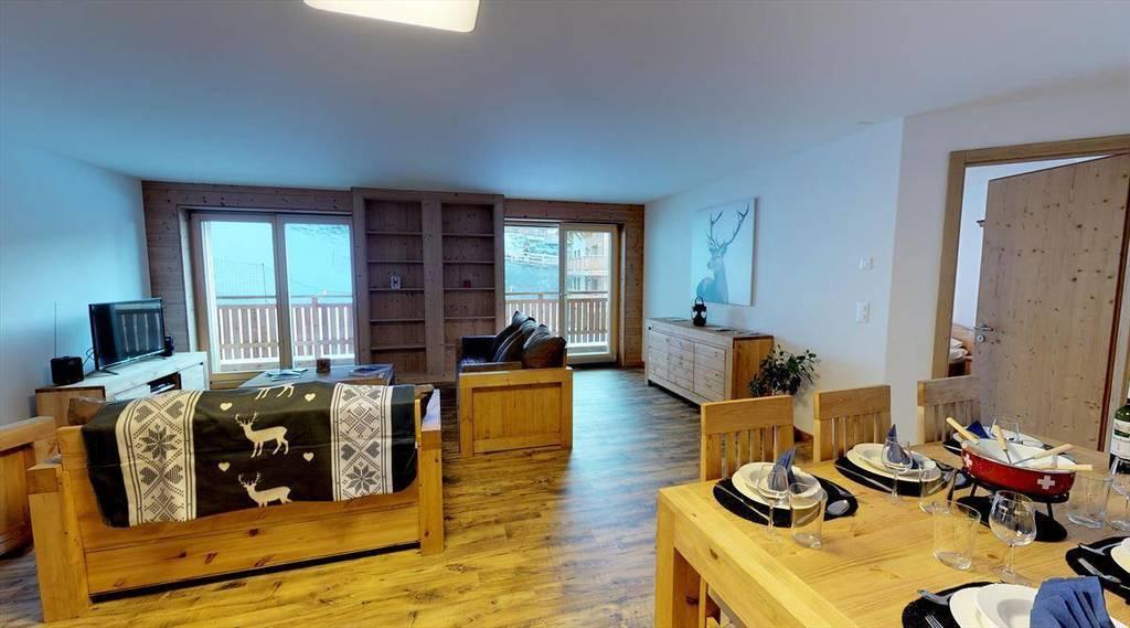 Location De Vacances Appartement 6 Personnes Veysonnaz 1993 Les Mayens MA  003  Type C4+ ...