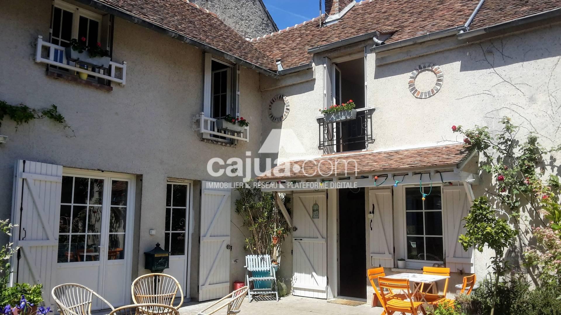 Baie Vitrée Voutée vente maison 6 pièces 160 m² villiers-sous-grez 77760
